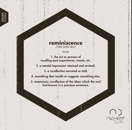 "OJAH feat. NIK TORP - Reminiscence (Alchemy Dubs 12"")"