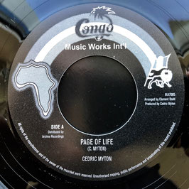 "CEDRIC MYTON - Page Of Life (Congo 7"")"