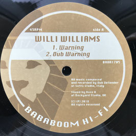 "WILLI WILLIAMS - Warning (Bababoom 12"")"