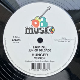 "JUNIOR DELGADO - Famine (DEB Music 12"")"
