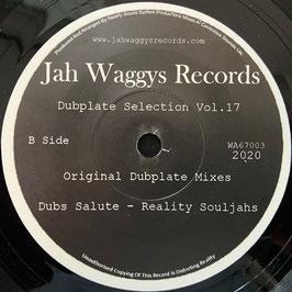 """REALITY SOULJAHS - Dub Salute (Jah Waggys 7"""")"""