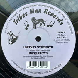 "BARRY BROWN - Unity Is Strength (Tribes Man 12"")"
