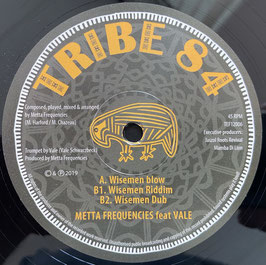 """METTA FREQUENCIES feat. VALE - Wiseman Blow (Tribe 84 12"""")"""