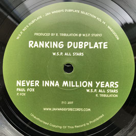 "WSP - Ranking Dubplate (Jahwaggys 12"")"