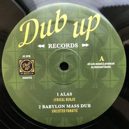 "LYRICAL BENJIE - Alas (Dub Up 12"")"