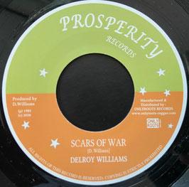 """DELROY WILLIAMS - Scars Of War (Prosperity 7"""")"""