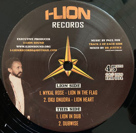 "MYKAL ROSE - Lion In The Flag (I-Lion 12"")"