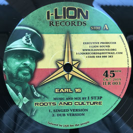 "EARL SIXTEEN - Roots And Culture (I-Lion 12"")"
