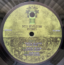 "RAMON JUDAH - Rasta Is Love, Lion (Bass Revelation 12"")"
