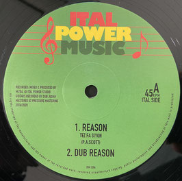 """TEZ FA SIYON - Reason (Ital Power 12"""")"""