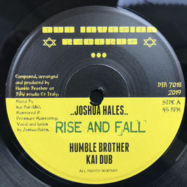 "JOSHUA HALES - Rise and Fall (Dub Invasion 7"")"