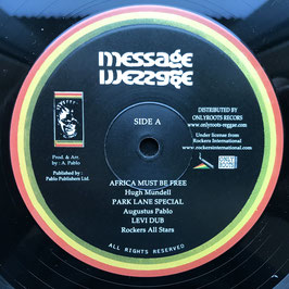 """HUGH MUNDELL - Africa Must Be Free (Message 10"""")"""