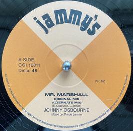"JOHNNY OSBOURNE - Mr Marshall (Jammy's 12"")"