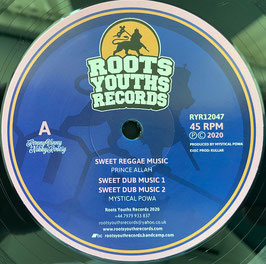 "PRINCE ALLA - Sweet Reggae Music / ABA ARIGINAL - Epic Trumpet (Roots Youths 12""_"