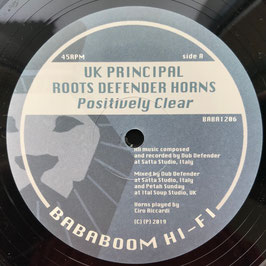 "UK PRINCIPAL - Positively Clear (Bababoom 12"")"