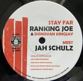 """RANKING JOE - Stay Far (Railroad 7"""")"""