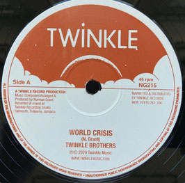 "TWINKLE BROTHERS - World Crisis (Twinkle 12"")"