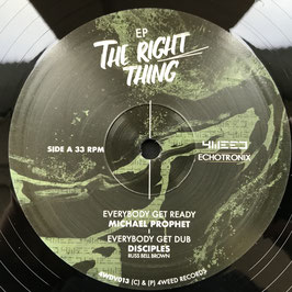 MICHAEL PROPHET, JOHNNY CLARKE - The Right Thing (4Weed EP)