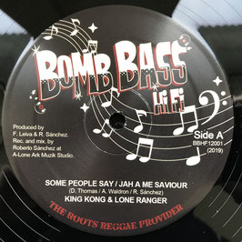 "KING KONG & LONE RANGER - Some People Say (Bomb Bass 12"")"