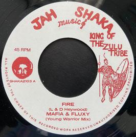 """MAFIA & FLUXY - Fire (Jah Shaka 7"""")"""