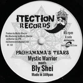 """MYSTIC WARRIOR meets Bly Shei - Pachamama's Tears (Itection 7"""")"""