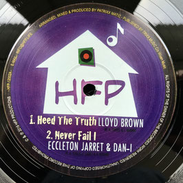 """LLOYD BROWN - Heed The Truth (HFP 12"""")"""