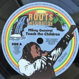 "MIKEY GENERAL - Teach The Children (Roots Inspiration 7"")"