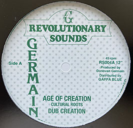 """CULTURAL ROOTS - Age Of Creation (Revolutionary Sounds 12"""")"""