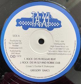 "GREGORY ISAACS - Rock Dis Ya Reggae Beat (Taxi 12"")"