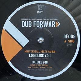 "MIKEY GENERAL - Look Like You (Dub Forward 12"")"