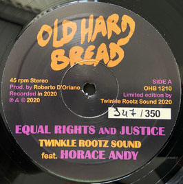 "HORACE ANDY, TWINKLE ROOTZ - Equal Rights and Justice (Old Hard Bread 12"")"