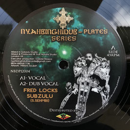 "FRED LOCKS meets SUBZULU - In My Heart (Nyahbinghidub 12"")"