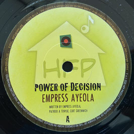 "EMPRESS AYEOLA - Power of Decision (HFP 7"")"