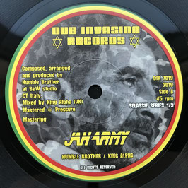 """HUMBLE BROTHER & KING ALPHA - Jah Army (Dub Invasion 7"""")"""