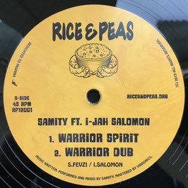 "MADU MESSENGER - We Are Warrior (Rice & Peas 12"")"