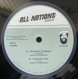 "AMELIA HARMONY - Lessons Learned (All Nations 12"")"