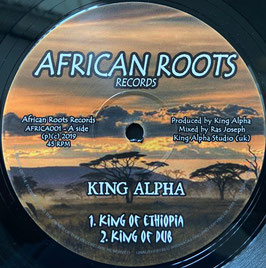 "KING ALPHA - King Of Ethiopia (African Roots 12"")"