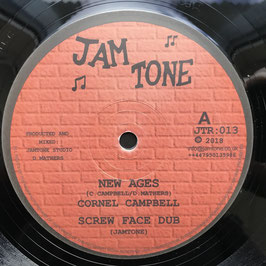 "CORNEL CAMPBELL - New Ages (Jam Tone 12"")"