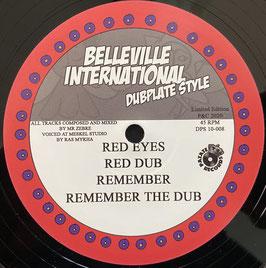 "RAS MYKHA meets MR ZEBRE - Red Eyes (Belleville 10"")"