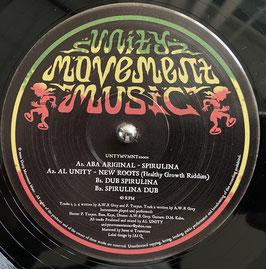 "ABA ARIGINAL - Spirulina (Unity Movement 10"")"