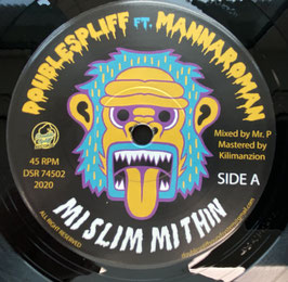 "MANNAROMAN - Mi Slim Mi Thin (Double Spliff 7"")"
