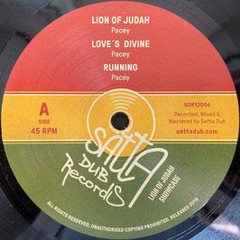 "PACEY - Lion Of Judah (Satta Dub 12"")"