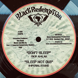 "FIKIR AMLAK - Don't Sleep (Black Redemption 10"")"
