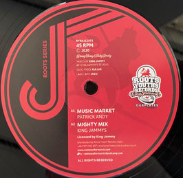 "PATRICK ANDY - Music Market / Tuff Mix (Roots Youths 12"")"