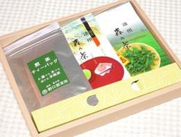 3本箱入り(煎茶ティーバッグ1袋込み)