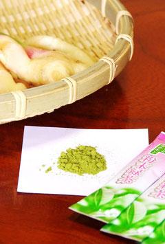 しょうが入りべにふうき粉末茶(3種類)