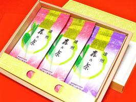 森の茶100g袋3本箱入り