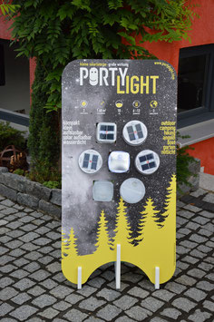 Portylight Ladestation