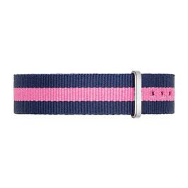 NYLONBAND - Blau-Pink