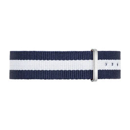 NYLONBAND - Blau-Weiß